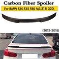 Настоящий спойлер для багажника автомобиля из углеродного волокна для BMW F30 3 Серии F80 M3 320i 318i 325i 2013-2018 задний спойлер для крыла