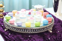 luxury Fashion crystal big cake stand cake tower holder /fruit snack tray / baking party supplies / wedding cupcake decor