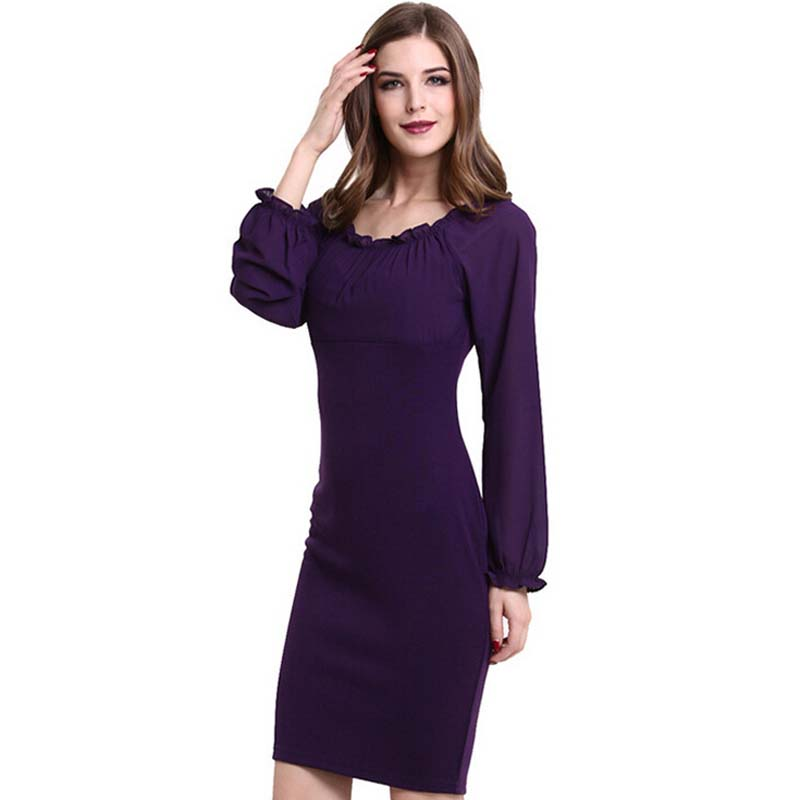 Popular Purple Dresses Women-Buy Cheap Purple Dresses Women lots ...