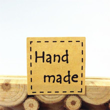 240pcs/lot Square Dotted Hand Made Leather Color Seal Sticker DIY For Party Gift Sealing