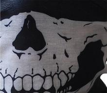 Moto casco mascaras Skull Tubular Protective Dust Mouth Mask Bandana Motorcycle Polyester Scarf Face Neck Warmer Helmet Half Dot