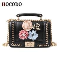 HOCODO Famous Brand Luxury Handbags Women Bags Designer High Quality PU Leather Handbags Black Crossbody Bags For Women 2018