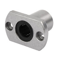 LMH12UU 12mm Inner Dia Oval Flange Mounted Linear Motion Bushing Ball Bearing