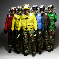 6 Styles 1/6 Aircraft Ground Crew Clothes Set for 12'' Male Bodies DIY Accessories