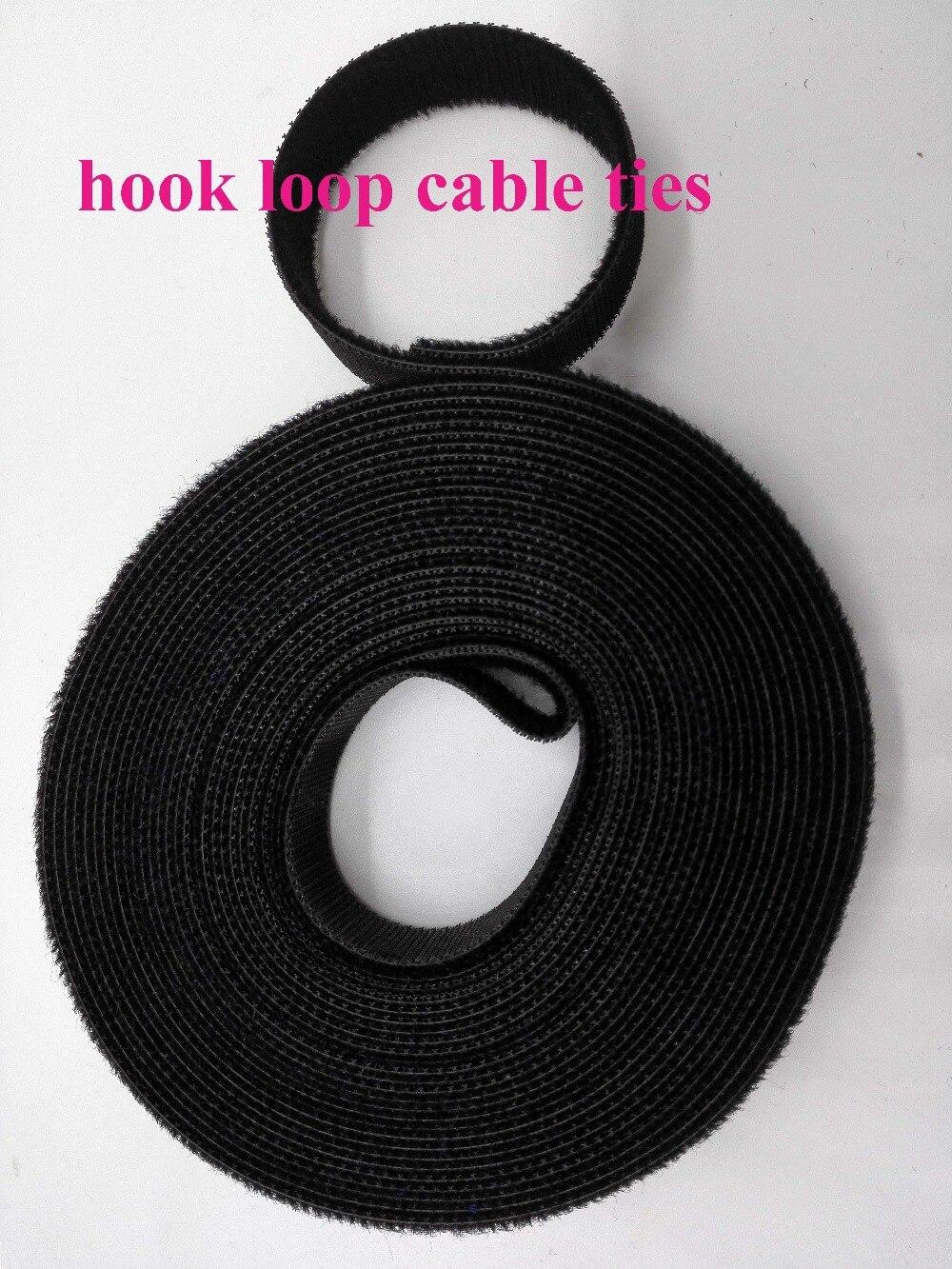2 rollen schwarz 15mm * 5 Mt kabelbinder band Kurzen Haken Zurück zu ...