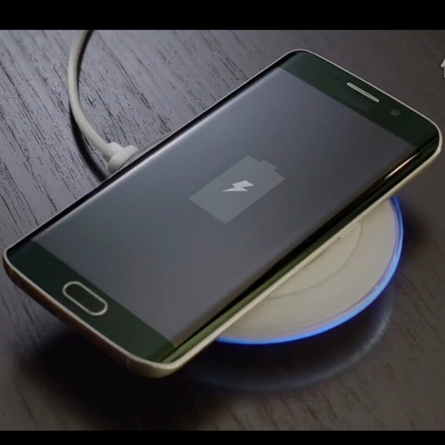 Universal Qi Wireless Charger Pad for Samsung Galaxy S7 S6 edge Note 5 Qi Mobile Cell Phone Smartphone Charge Charging Dock