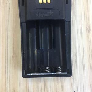 Image 3 - 2X 6AA แบตเตอรี่สำหรับ Motorola DEP450 DP1400 PR400 CP140 CP040 CP200 EP450 CP180 GP3188 ฯลฯ wakie talkie เข็มขัดคลิป