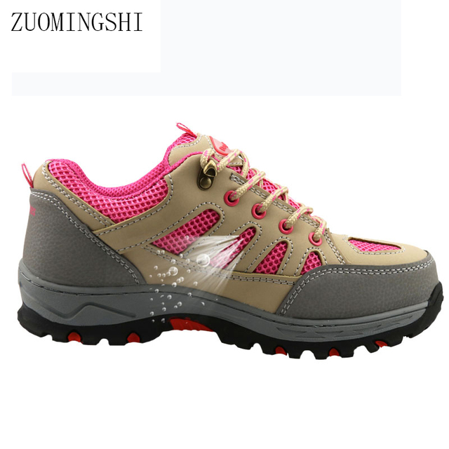 New boots women safety work shoes steel toe and steel sole breathable light  weight casual safety boots 0daaa4c733