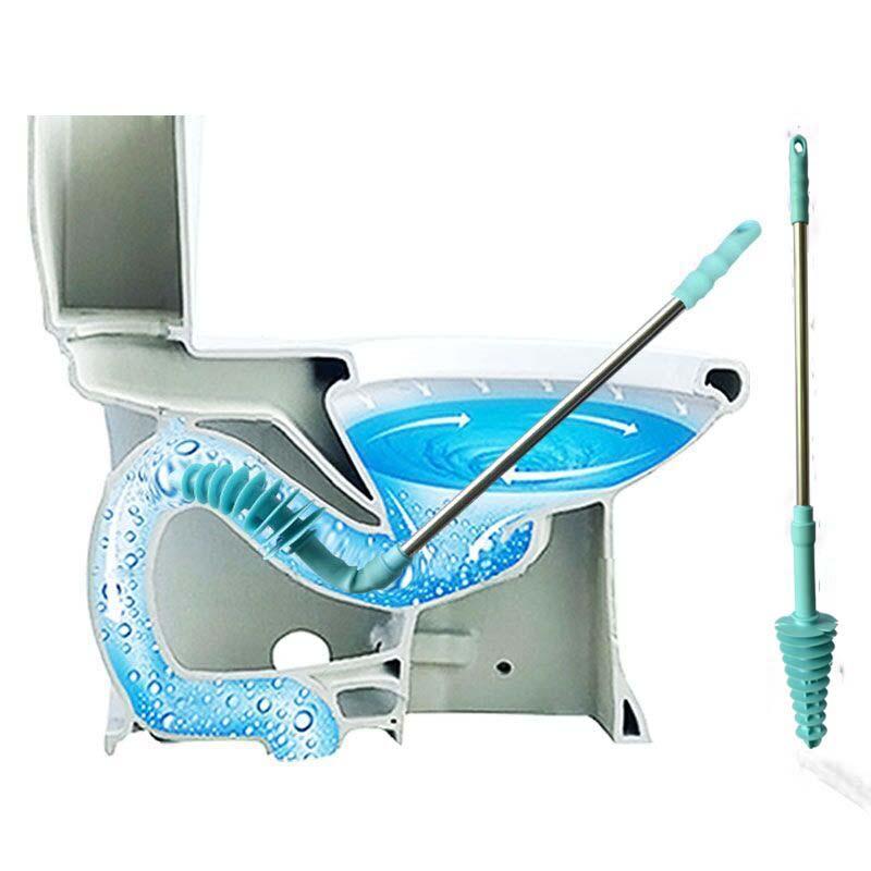 Lange Toiletplunjers Zuiger Type Baggerinrichting Huishoudelijke - Huishouden