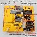 De secado rápido para el iPhone 6 4.7 reparación de la placa madre herramientas Set pruebas repuestos como el hogar botón cargador Cable de la flexión trasero / frente a la cámara cámara