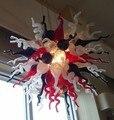 Luxus Hand Geblasen Glas Kronleuchter Für Parlor Decor-in Kronleuchter aus Licht & Beleuchtung bei