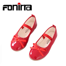 Buy 2016 Fashion Chilren Girls Shoes Spring Autumn Casual Flats Shoes for Girls Princess Ballet Flats Shoes for Party Wedding  directly from merchant!
