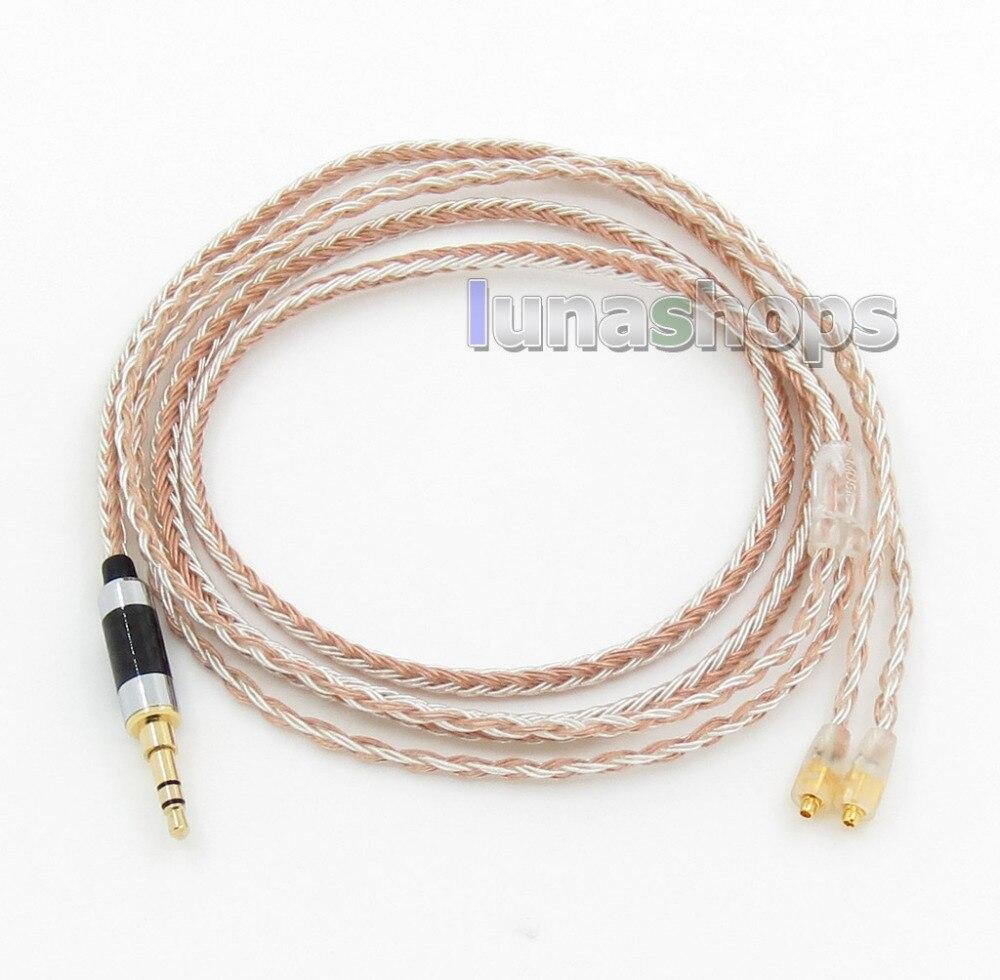 3.5mm 16 Cores OCC Silver Plated Mixed Headphone Cable For Westone W60 W50 W40 UM50 UM30 UM10 LN0057923.5mm 16 Cores OCC Silver Plated Mixed Headphone Cable For Westone W60 W50 W40 UM50 UM30 UM10 LN005792