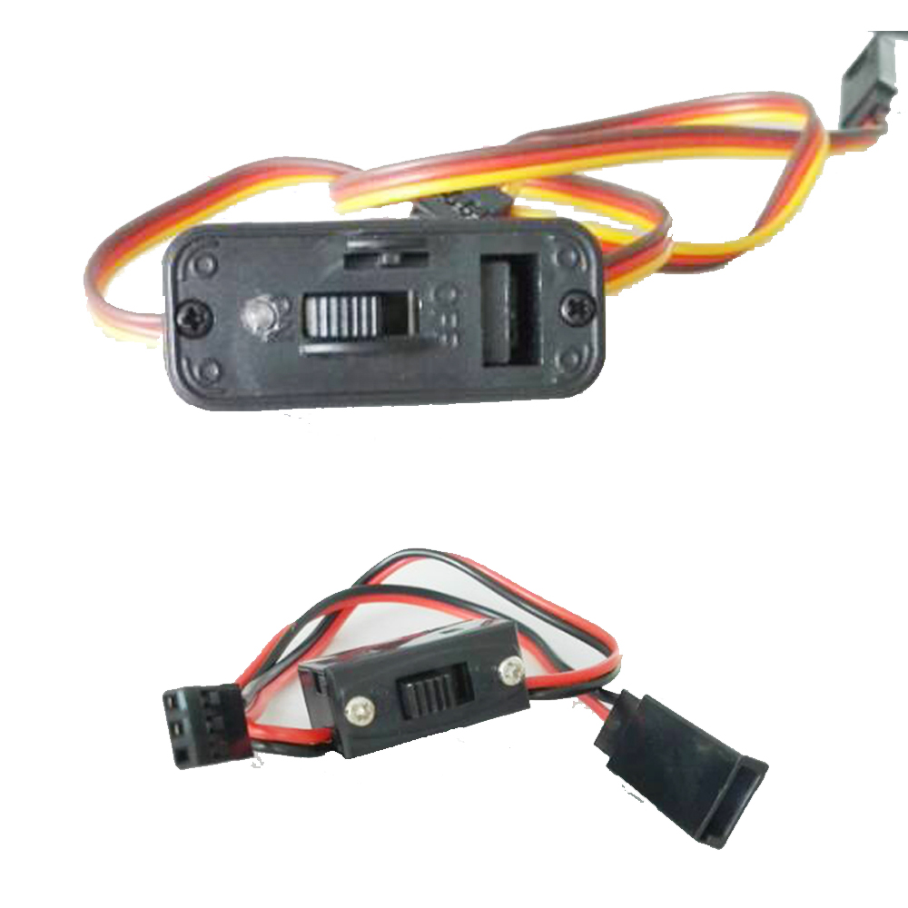 1pcs Power on/off switch JST JR Connector Receiver Switch male female For RC Boat Car Flight two way Wholesale jr futaba male female connector for rc model servo connector model receiver battery esc connection