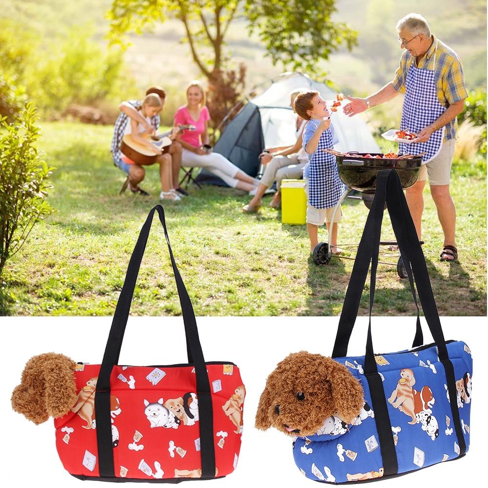 S/L Size Pet Bags Portable Pet Carriers Canvas Handbags Shoulder Bag Dog Carrier Bag Dog Tote Supplies Pet Products
