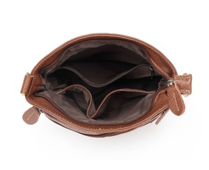 Image 5 - 100% First Layer Cowhide Genuine Leather Women Messenger Bags Female Small Shoulder Bags Vintage crossbody Bags bolsas MM2318