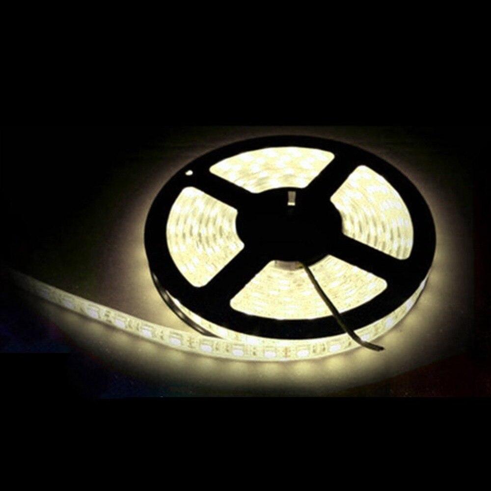 5pcs 5M Non-waterproof RGB LED Strip Light 3528 DC12V Flexible Lighting String Ribbon Tape Lamp Home Decoration Lamp 5m 300pcs 3528 smd leds 36w 900lm non waterproof highlight decoration strip lamp rgb