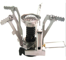 Outdoor camping, one stove, stove, furnace head with electronic ignition, mini furnace, BBq