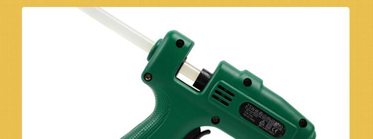 25 W/60 W/100 W Profesional pistolet un colle Mini Hot Melt Pegamento Pistola de Aire De Metal/Papel Palo Horquilla Flores PU de Trabajo de madera