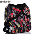 [simfamily]1PC Diaper Cover Double reusable waterproof,fit 3-15kgs baby