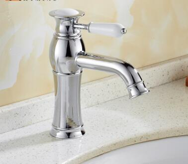 Special offer clearance copper bathroom washbasin European faucet plating faucetSpecial offer clearance copper bathroom washbasin European faucet plating faucet