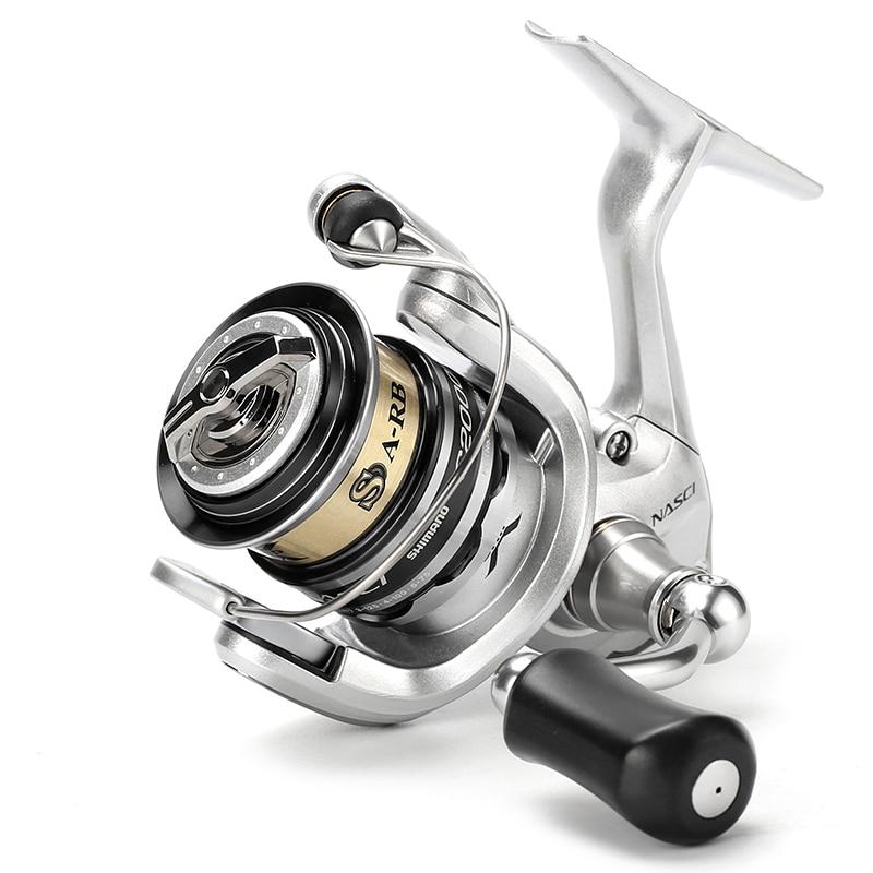 Shimano brand nasci light shallow spool fishing spinning for Best fishing reel brands