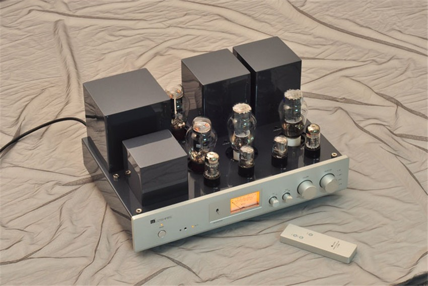 MUZISHARE X-300B vacuum tube Integrated amplifier Double vacuum tube rectification Single-end pure CLASS A 8Wx2 HIFI amplifier