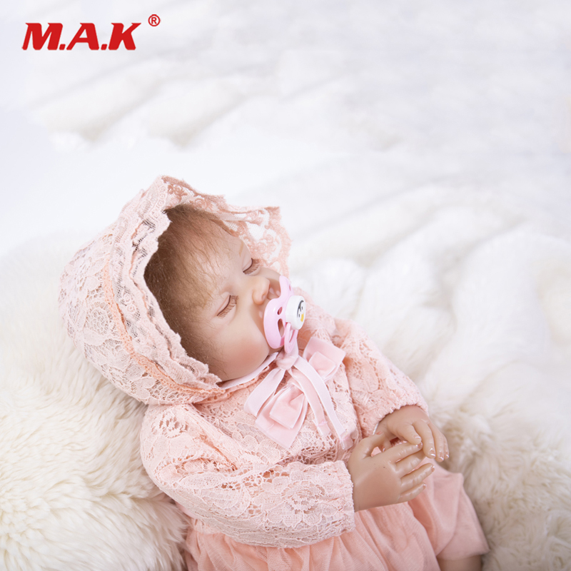 50CM Bebes Reborn Dolls Realistic Baby Soft Silicone for Girl Bonecas Cute Lifelike Sleeping Reborn Gift Toys lol Doll Suprice50CM Bebes Reborn Dolls Realistic Baby Soft Silicone for Girl Bonecas Cute Lifelike Sleeping Reborn Gift Toys lol Doll Suprice