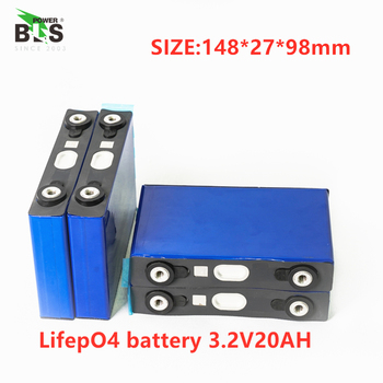 2pcs lifepo4 3.2v 20ah 200A high discharge current 20ah 3.2v lifepo4 battery cell for electrice bike motor battery pack diy