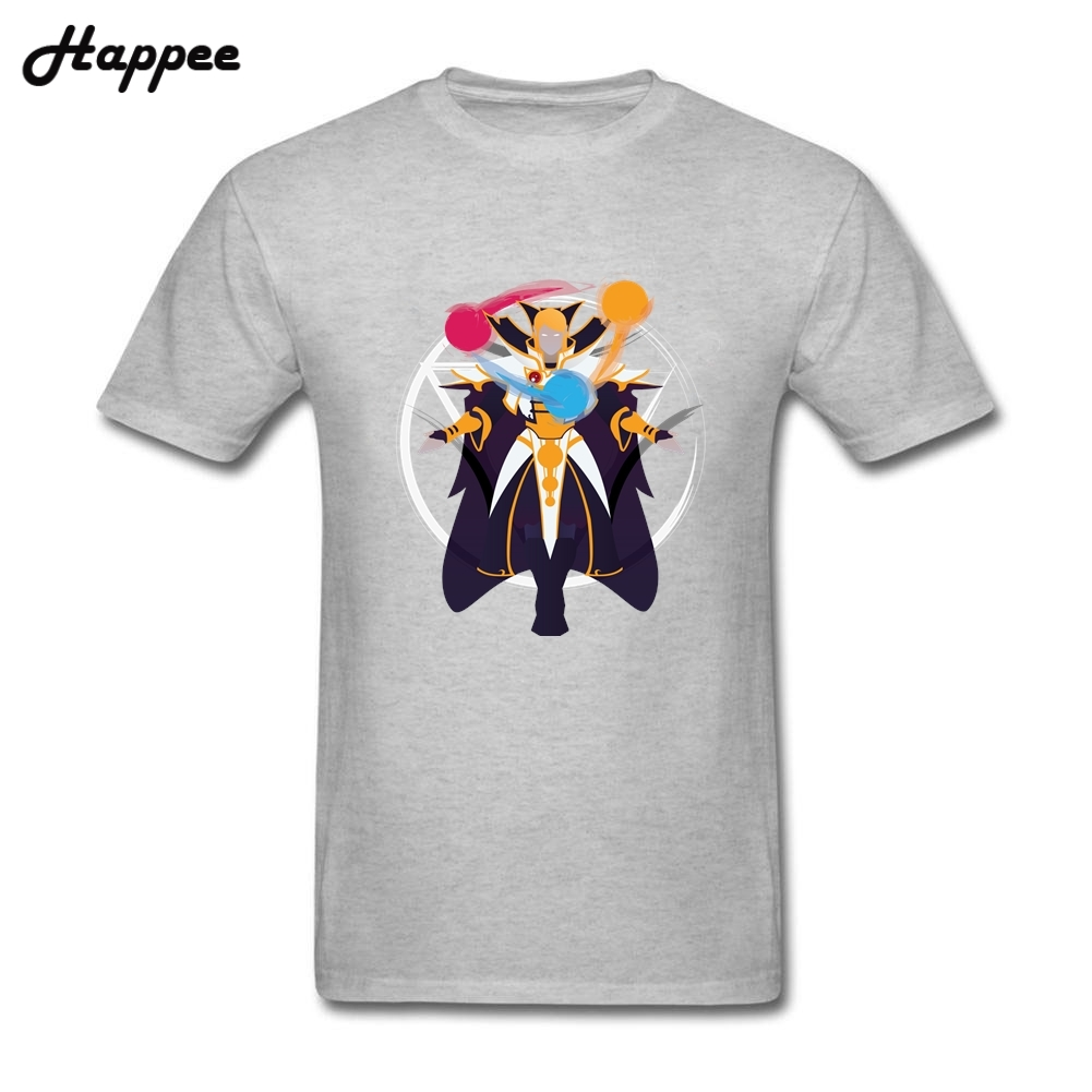 invoker dota 2 tshirt men s 100 cotton clothes man plus size