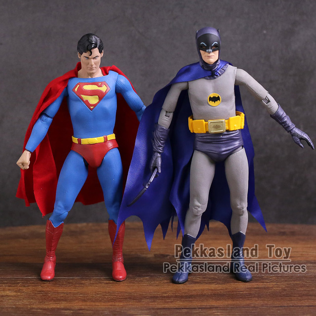 """Neca Dc Comics Batman Superman De Joker Pvc Action Figure Collectible Toy 7 """"18Cm"""