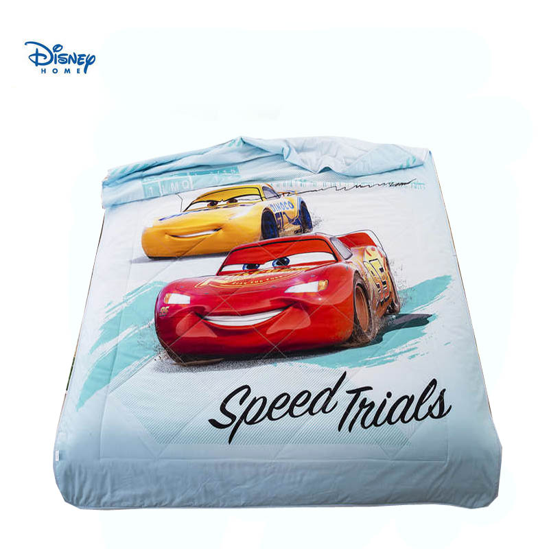 disney cars lighting mcqueen beddings queen size bed cover 100% cotton home decor kids boys stitching throw blanket summer quilt
