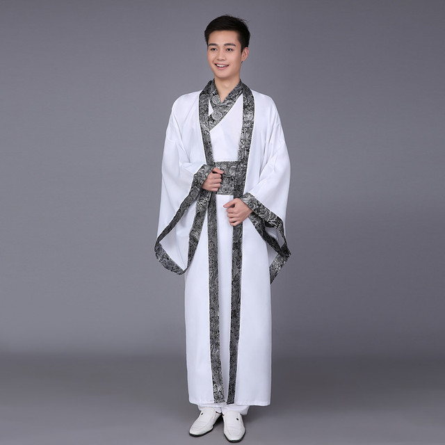 Chinese national costume Hanfu Qin Dynasty Spring and Autumn Warring States official service Han Dynasty performance clothing
