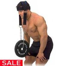 Голова шеи тренировка фитнес вес подшипника крышка плеча мышцы тренажер веса
