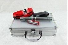 Buy high power green laser pointers 200w 200000mw 532nm Flashlight Lazer Beam Military burning match dry wood black cigarettes+5 cap