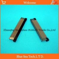 Pin Eretto tipo SMD Sfalsati Pin FPC/FFC presa del connettore del cavo a 37 Pin 0.5mm per schermo LCD di DVD/GPS/MP3/PDA/Phone ect.