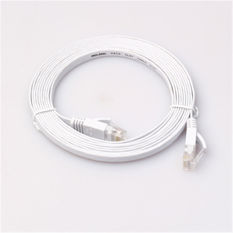 Six types of Gigabit flat finished network cable pure copper computer network flat jumper WSX07
