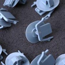 30 шт. рокер панель Литье клип нейлон Фиксатор крепеж зажимы светильник синий подходит для Nissan Murano 2003 на A21085