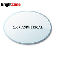 Fill a prescription 1.67 Aspheric UV CR-39 AR High Index Prescription Myopia lens eyeglasses lenses myopia/astigatsim/presbyopia