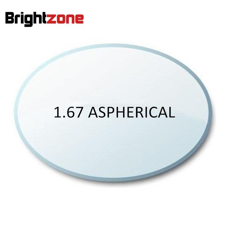 Remplir une prescription 1.67 asphérique UV CR-39 AR haute Prescription myopie lentille lunettes lentilles myopie/astigatsim/presbytie