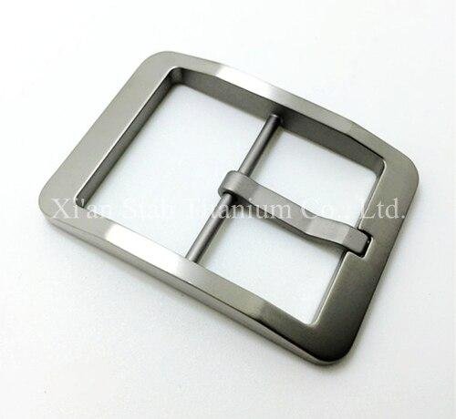 Чистый Титан мужской Для мужчин с поясом Булавки пряжка противоаллергическое высокое качество свет Вес 37 г/шт. для ремень узкий чем 38 мм