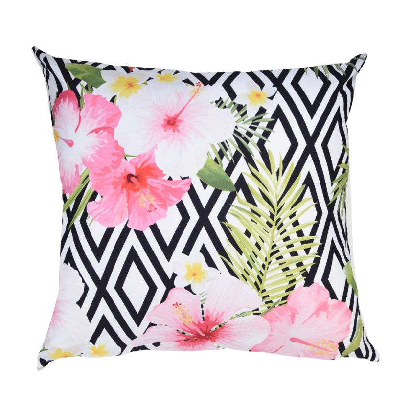 buy hgd cushion cover polyester plant pillow case home sofa car decor