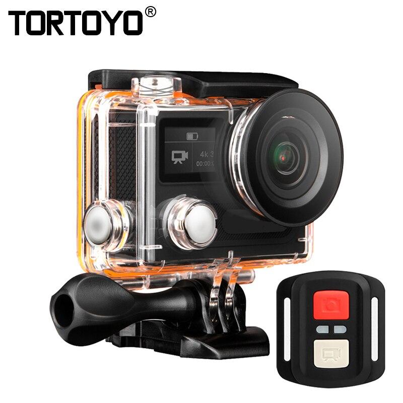 H8RS Action Camera Ultra HD 4K WIFI 1080P Dual Screen Waterproof Diving Sports DV Helmet Cam Video Recording Shooting Camcorder