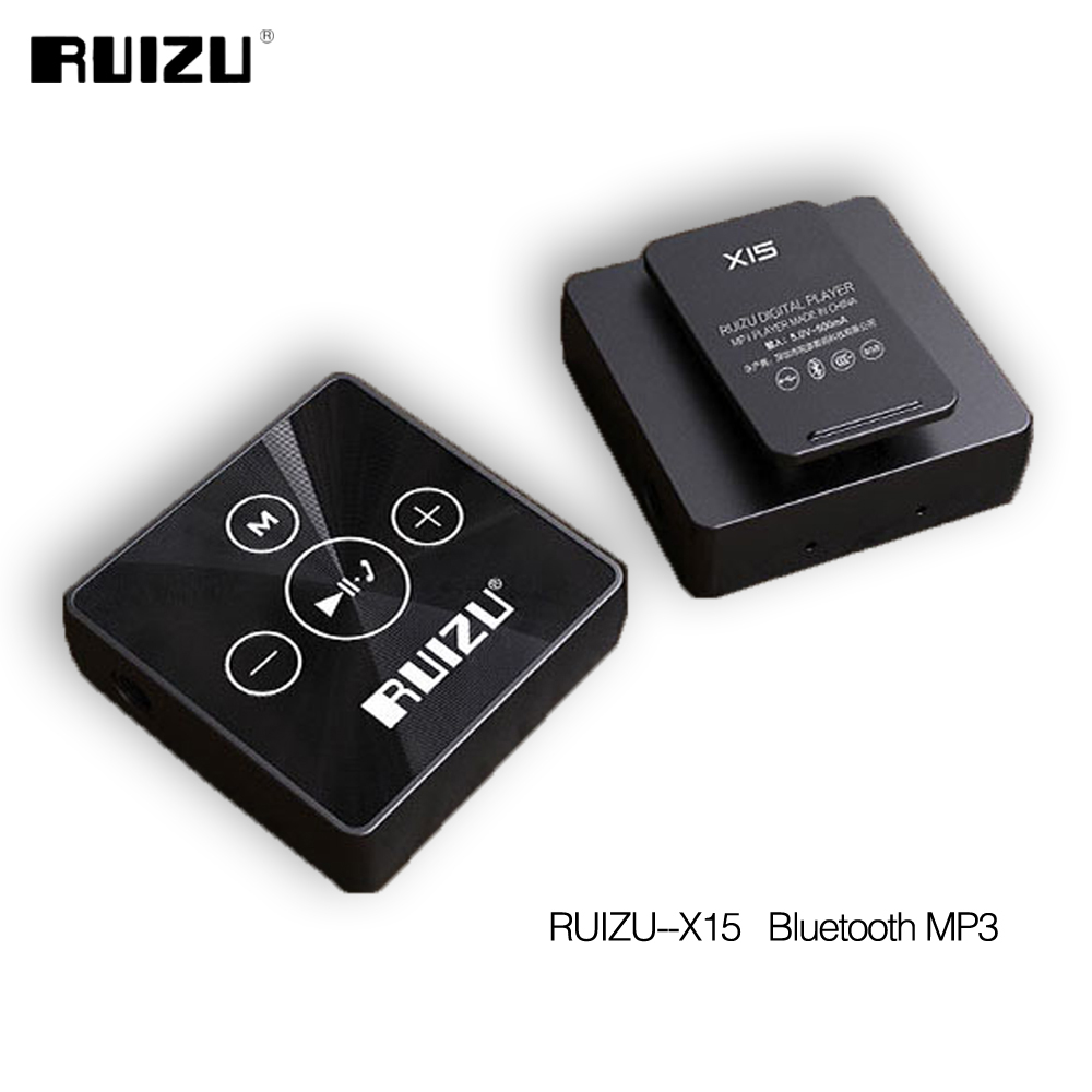 2017 newest bluetooth sport mp3 music player ruizu x15 8gb. Black Bedroom Furniture Sets. Home Design Ideas