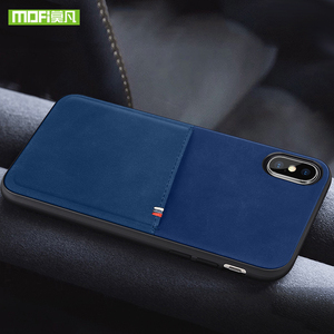 Image 5 - MOFi For iPhone 7 8 X Case For iPhone 7 8 Plus Bag Card Case For iPhone X 10 Case Cover PU Leather Luxury Wallet Card Back Cover