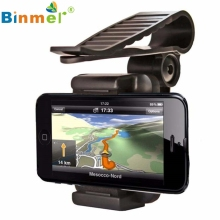 Del Top Quality Car Rearview Mirror Mount Holder Stand Cradle For Cell Phone GPS Apr27