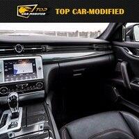 Бесплатная доставка для Quattroporte Карбон Волокно внутренней отделки для Maserati Quattroporte, авто Интимные аксессуары от автомобиля Модифицируемый