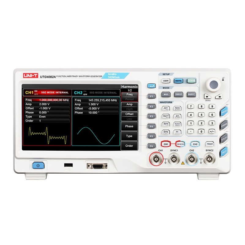 OWON AG1012 DDS Arbitrary Waveform function Generator 125Msa//S 10M FM vs Rigol