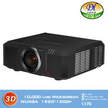 DH-8803 Motorized lens 15000lms Engineering Projector 3D function Full HD 1920*1200P 3LCD Proyector Built in speaker Beamer
