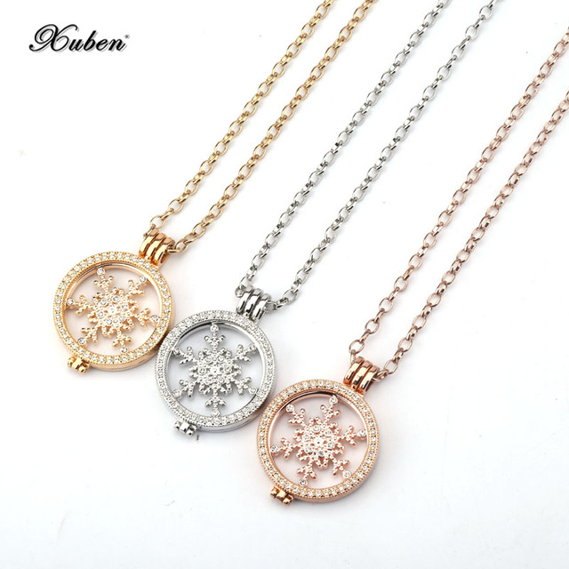 Christmas coin holder pendant necklace fashion jewelry christmas coin holder pendant necklace fashion jewelry interchangeable 33 mm coins aloadofball Images